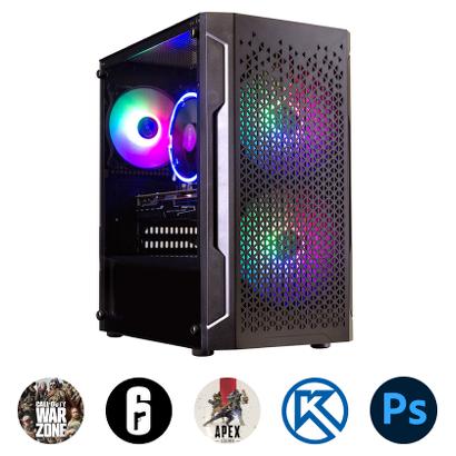 Компьютер Зеон для актуальных игр, систем проектирования, работы с фото [K70]